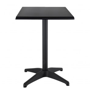 Aida Black Aluminium Indoor Outdoor Table