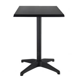 Aida Black Aluminium Indoor Outdoor Table