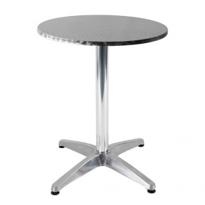 Aida Round Outdoor Table Stainless Steel