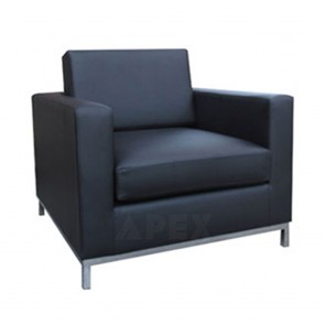 Aimee Modern Fabric Sofa Lounge Single Seater