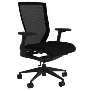 Alpha Ergonomic Black Mesh Back Office Chair
