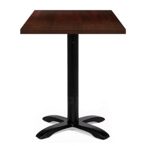 Alvina Modern Square Timber Dining Table