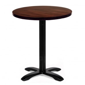 Alvina Modern Round Timber Dining Table