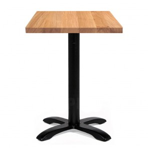 Alvina Modern Oak Square Timber Dining Table