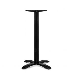 Alvina Modern Cast Iron Black Bar Table Base