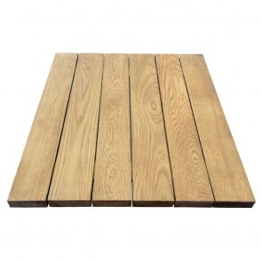 American Oak Outdoor Table Top