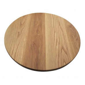 American Oak Round Table Top