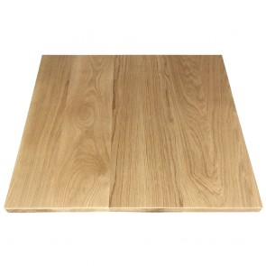 American Oak Timber Table Top Solid Wood