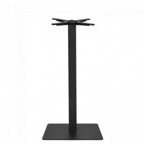 Annick Dry Bar Square Black Steel Table Base 450