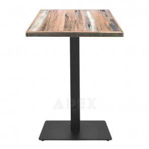 Annick Rustic Industrial Dining Table