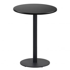 Annick Round Dry Bar Table Disc Base