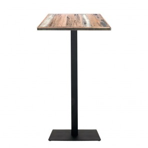 Annick Rustic Industrial Bar Table