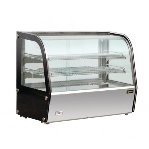 Apuro Heated Countertop Display Cabinet 100Ltr