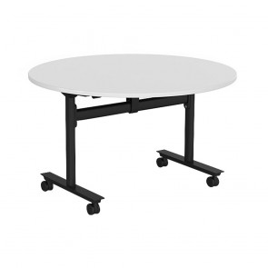 Aspire Round Mobile Flip Top Table