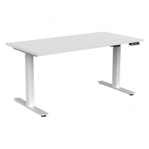 Aspire Electric Sit Stand Desk White Frame