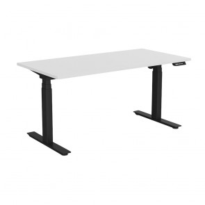 Aspire Electric Sit Stand Office Desk Black Frame