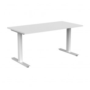 Aspire Office Desk White Frame