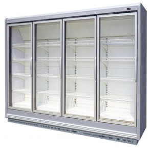Austune Display 2 Door Freezer Remote 1550mm FTAS G2FTAS-R1550