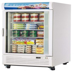 Austune One Door Upright Display Freezer 650L G1F-650L