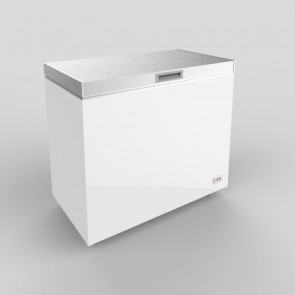 Austune Stainless Steel Top Open Chest Freezer 420L ABCF-420