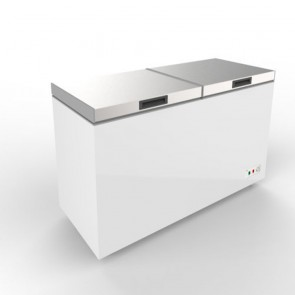 Austune Stainless Steel Top Open Chest Freezer 520L ABCF-520
