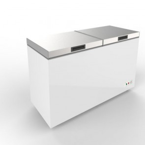 Austune Stainless Steel Top Open Chest Freezer 620L ABCF-620