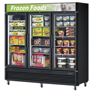 Austune SD Three Door Upright Display Freezer 2019L G3FSD-72
