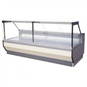 Austune Square Glass Deli Display 1250 DQE7P DQE7P-R1250