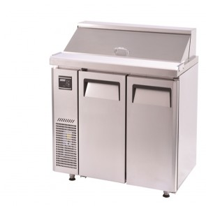 Austune Turbo air Salad Side prep Table-Hood Lid 1200 KHR12-2