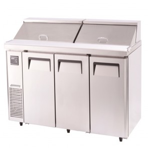 Austune Turbo Air Salad Side prep Table-Hood Lid 1800 KHR18-3
