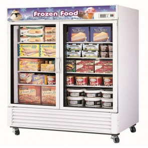 Austune Two Door Upright Display Freezer 1250L G2F-1250L