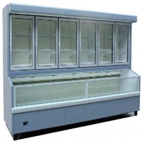 Austune Upright Island Freezer 3750mm SP 4Y SP6F4Y-R3750