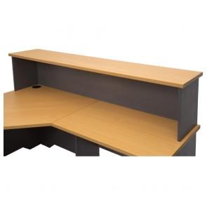 Beech Office Desk Hob