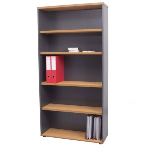 Beech Tall Office Bookcase