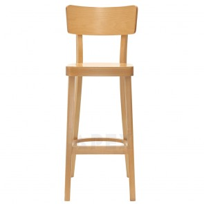 Oak Bentwood Bar Stool BST-9449