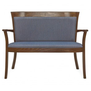 Bentwood Love Seat S-9744