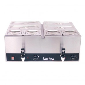 Birko Double Bain Marie with Pans 1110102
