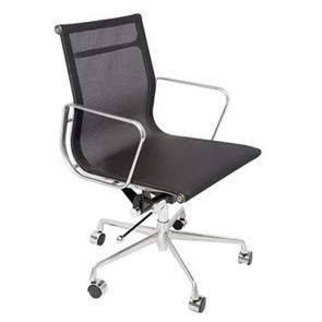 Black Mesh Ergonomic Home Office Chair