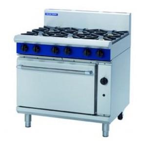 Blue Seal by Moffat 6 Burner Natural Gas Oven Range G506D