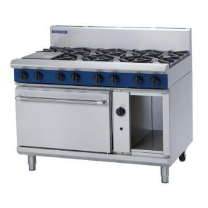 Blue Seal by Moffat 8 Burner Natural Gas Oven Range G508D