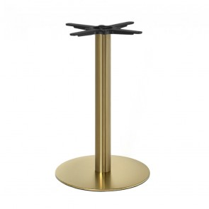Brass Table Base Round
