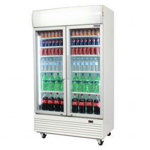 Bromic 1000L Two Door Commercial Fridge GM1000L