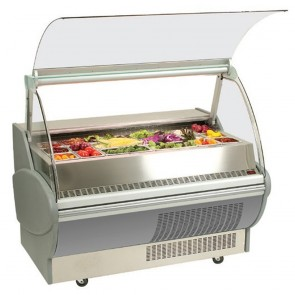 Bromic 1050mm Horizontal Chilled Food Display Fridge with Safety Glass SB105P