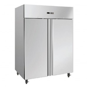 Bromic 1300L Two Door Stainles Steel Freezer UF1300SDF