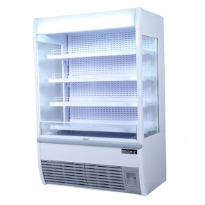 Bromic 1330L LED Open Display Supermarket Fridge VISION1200
