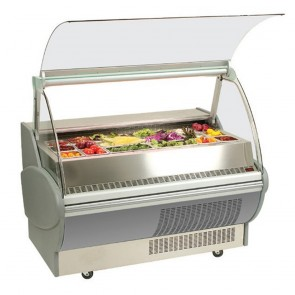 Bromic 1500mm Horizontal Chilled Food Display Fridge with Safety Glass SB150P
