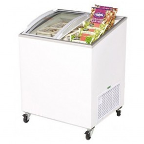 Bromic 176L Chest Freezer with Curved Sliding Glass Lids CF0200ATCG