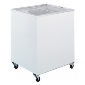 Bromic 191L Durable PVC Chest Freezer with Sliding Glass Lids CF0200FTFG