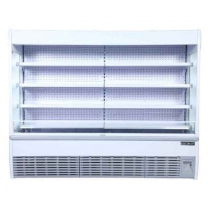 Bromic 2555L LED Open Display Supermarket Fridge VISION2400