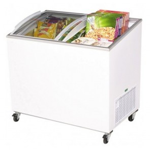 Bromic 264L Chest Freezer with Curved Sliding Glass Lids CF0300ATCG